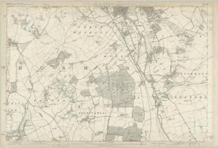 Worcestershire LXII.NE - OS Six-Inch Map