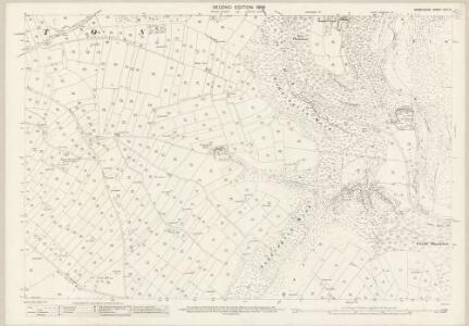 Derbyshire XXIII.5 (includes: Ashford; Brushfield; Little Longstone; Sheldon; Taddington) - 25 Inch Map