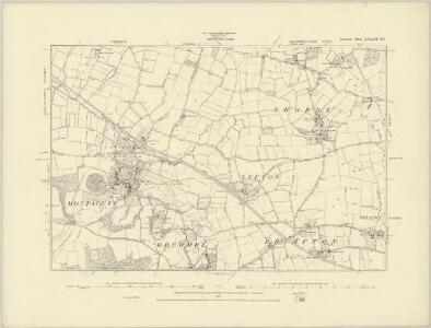 Somerset LXXXII.SW - OS Six-Inch Map