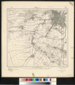 Meßtischblatt 2605 : Halle (Süd) a. d. Saale, 1918