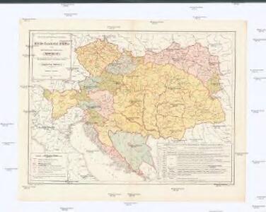 Abgrenzung und administrative Eintheilung der Militär-Territorial-Bezirke in der österreichisch-ungarischen Monarchie