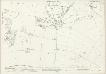 Worcestershire XXXV.16 (includes: Church Lench; Harvington; Salford Priors) - 25 Inch Map