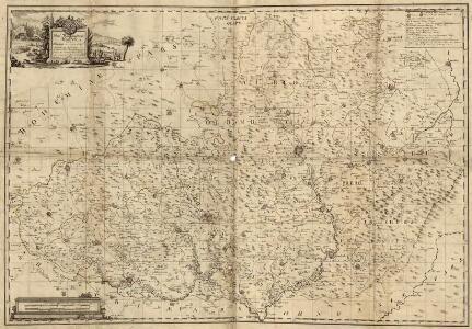 Das Markgraftum Maehren mit der Aelteren und im Jahr 1783 abgeaenderten Eintheilung der Kreisen