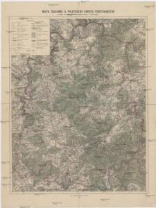 Mapa školního a politického okresu Rokycanského