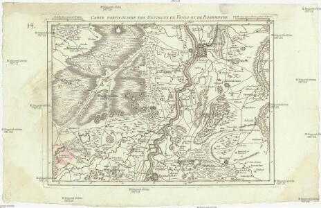 Carte particuliere des environs de Venlo et de Roermonde