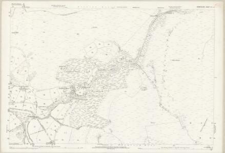 Derbyshire VII.15 (includes: Bamford; Derwent; Hope Woodlands; Outseats) - 25 Inch Map