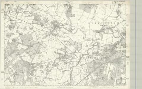 Surrey XI - OS Six-Inch Map