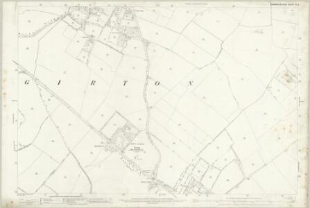 Cambridgeshire XL.9 (includes: Cambridge; Girton; Histon; Impington; Madingley) - 25 Inch Map