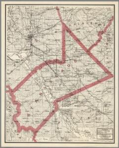 Weber's Map of Stanislaus County, California