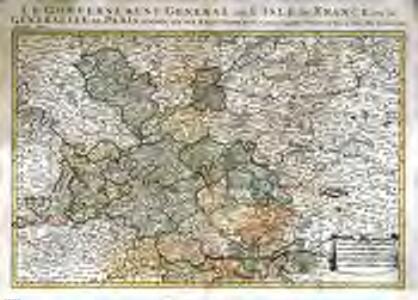 Gouvernement et generalité de Paris, premiere partie