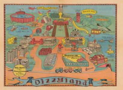 Dizzyland : Pail & Shovel Guide to the Madison Campus After Pail & Shovel Gets Its Hands On It