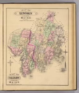 Lincoln Co., Sagadahoc Co.