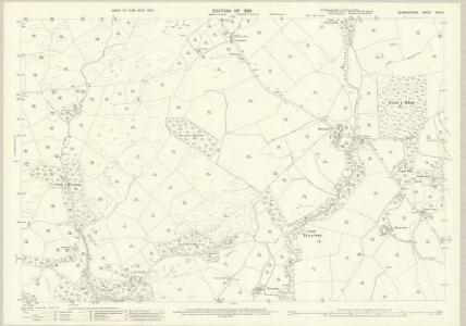Denbighshire XXIII.8 (includes: Llanrwst Rural; Pentrefoelas) - 25 Inch Map