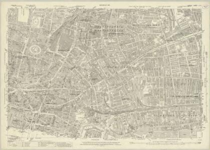 London (1915- Numbered sheets) V.11 (includes: Bethnal Green; London; Shoreditch; Stepney) - 25 Inch Map