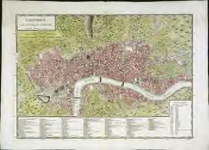 Londres (avec le bourg de Southwark)