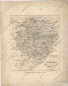 Reise Karte duch die Sächsische Schweiz