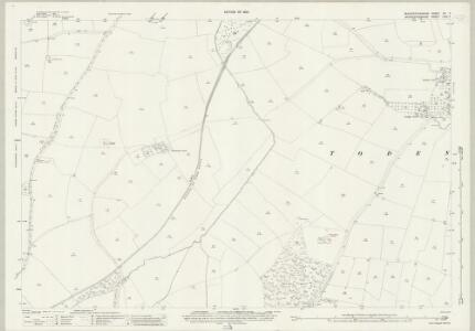 Gloucestershire XV.7 (includes: Batsford; Blockley; Todenham) - 25 Inch Map