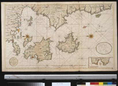 De zuijdelijkste zeekust van Morea als meede het eyland Zante en Cefalonia geleegen in de Middellandsche Zee
