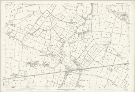 Cheshire XVII.4 (includes: Dunham Massey; Lymm; Warburton) - 25 Inch Map