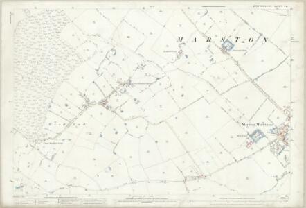 Bedfordshire XXI.1 (includes: Cranfield; Lidlington; Marston Moretaine) - 25 Inch Map