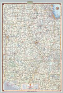 Shell Sectional Map No. 7 - South Central States.