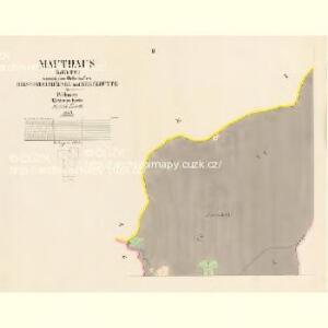 Mauthaus (Meyto) - c4927-1-002 - Kaiserpflichtexemplar der Landkarten des stabilen Katasters