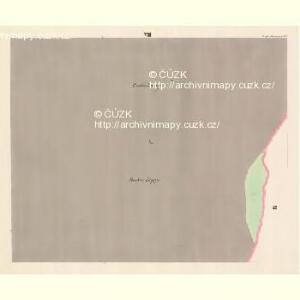 Gross Mohrau (Hruba Morawa) - m3311-1-006 - Kaiserpflichtexemplar der Landkarten des stabilen Katasters