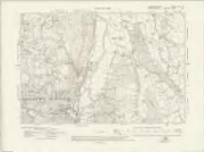 Caernarvonshire XIX.SW - OS Six-Inch Map