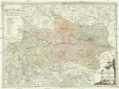 Karte von dem Erzherzogthum Oesterreich oder denn Lande ob und unter der Enns