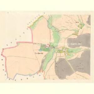 Taschowitz - c7844-1-002 - Kaiserpflichtexemplar der Landkarten des stabilen Katasters