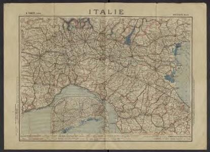 Italie. n30, section nord