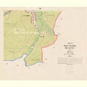 Pressnitz (Prissetnice) - c6248-1-007 - Kaiserpflichtexemplar der Landkarten des stabilen Katasters
