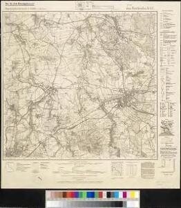 Meßtischblatt 4854 : Reichenbach O.L., 1944