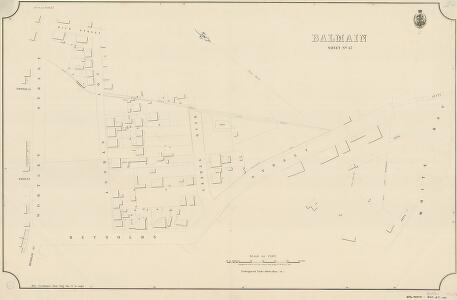 Balmain, Sheet 47, 1889