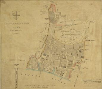 CASTLE-BAYNARD WARD A New Survey 1794.