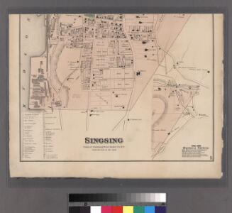 Plates 45 & 46: Singsing, Town of Ossining, Westchester Co. N.Y.