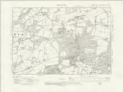 Sussex XXV.NW - OS Six-Inch Map