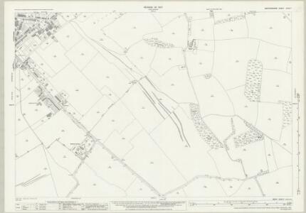 Bedfordshire XXXII.7 (includes: Caddington; Dunstable; Kensworth) - 25 Inch Map