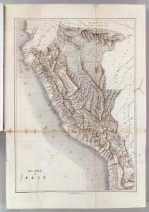 Mapa general del Peru.