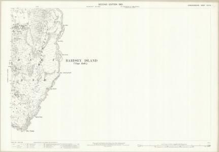 Caernarvonshire XLVI.10 (includes: Bardsey Island) - 25 Inch Map