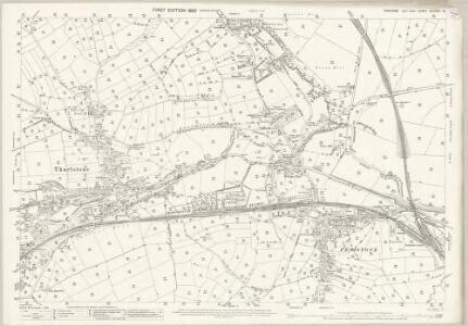 Yorkshire CCLXXIII.15 (includes: Penistone) - 25 Inch Map