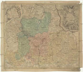 Marchionatus Lusatiae inferioris Bohemiae olim regno iam elect. Saxoniae subject. in circulos, dynastias et praefect. accuratisssime distinctus