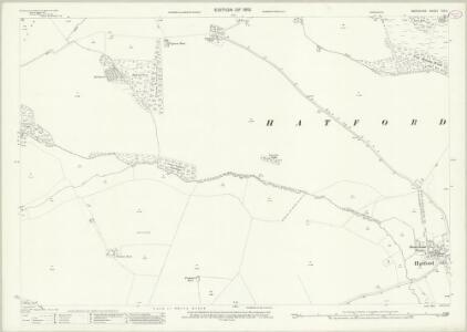 Berkshire VIII.11 (includes: Buckland; Great Faringdon; Hatford; Shellingford; Stanford in The Vale) - 25 Inch Map