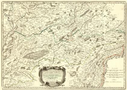 Partie du Dioec et Archche. de Besançon cujus Metropolis Visontio ou sont les Gr. Archidiacné. et celuy de Gray &c.