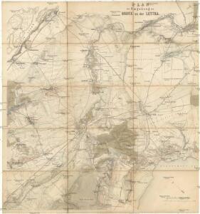 Plan der Umgebung von Bruck an der Leytha
