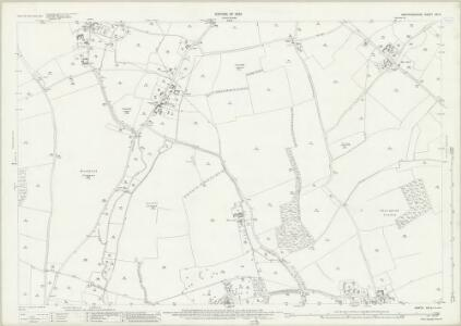Hertfordshire XIII.6 (includes: Ardeley; Clothall; Cottered; Walkern; Weston) - 25 Inch Map