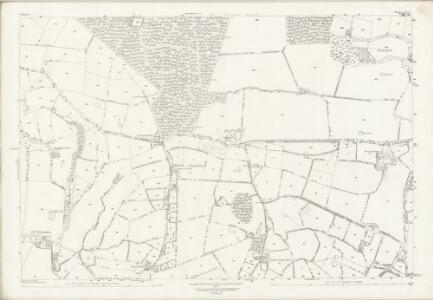 Cheshire XL.9 (includes: Delamere; Utkinton; Willington) - 25 Inch Map