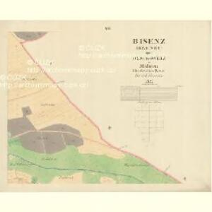 Bisenz (Bzenec) - m0321-1-007 - Kaiserpflichtexemplar der Landkarten des stabilen Katasters
