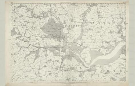 Cornwall XLV - OS Six-Inch Map