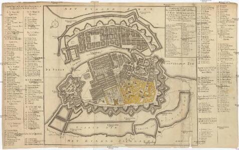Naaukeurige Aftekening van de Koninglyke Deensche Hoofd en Residentie STAD KOPENHAGEN